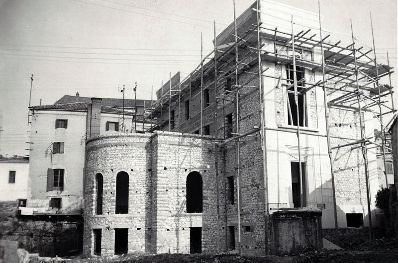 Costruzione Palazzo Mutilati