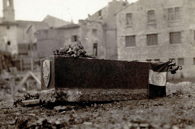 Prima pietra del Palazzo dei Mutilati